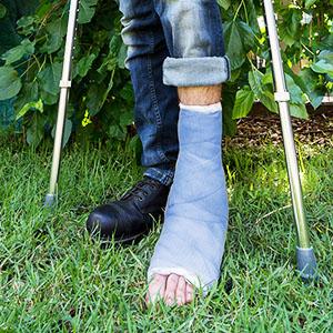 Take care in the garden