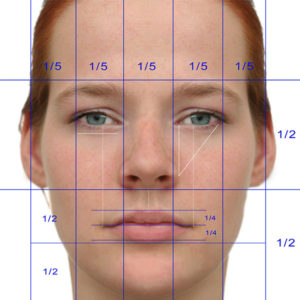 Opinion, facial symmetry and skin color something