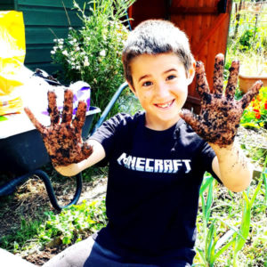 Soil bacteria benefit adults AND children