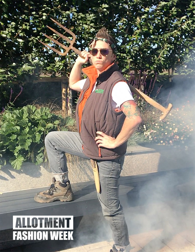 Get the #AllotmentFashionWeek Look