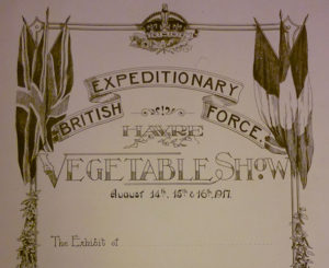 Military Vegetable Show 1917