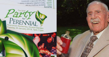 Party for Perennial – a toast to my great grandad